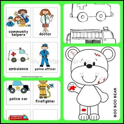 Cooking Activities Community Helpers Pictures to Pin on Pinterest