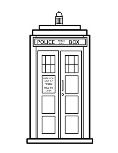 Doctor Who Coloring Pages / geeking - Juxtapost