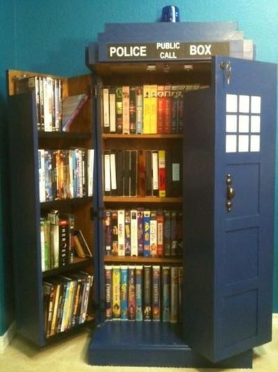 Police Box Book Shelf