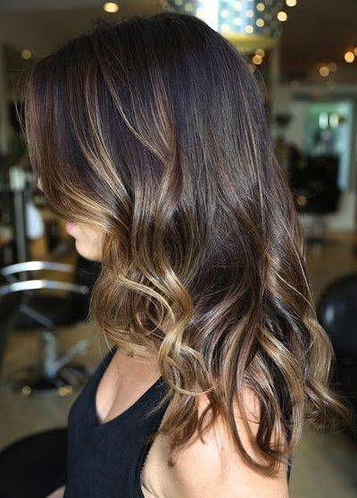 Caramel Highlights Ombre Ends Hair Tips Juxtapost