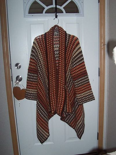 ravelry asymmetrical jacket this is made from a