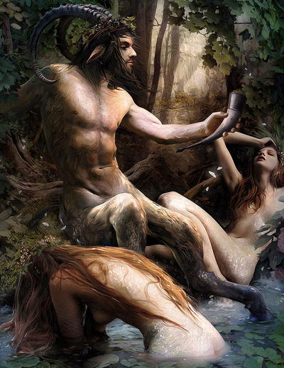 nymph and satyr parties