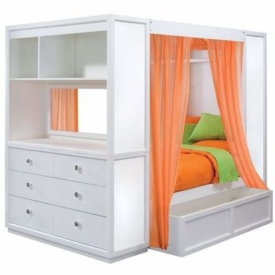 Children s Bed and bookshelf dresser bo I love it