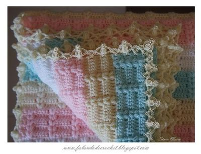 ... by Falando de Crochet. In Spanish with lots of pictures and charts