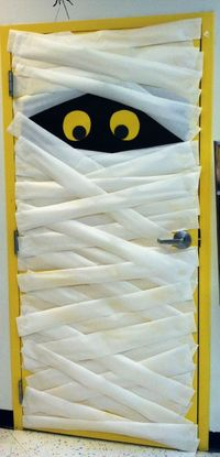 Cute Halloween door for the classroom (or home)