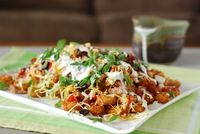 Oh my goodness!!!The Tater Patch (Tater Tot Nachos) YUM!! ~Nibble Me This
