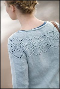 pattern: Shalder by designer Gudrun Johnson ~ can be purchased through her site The Shetland Trader.