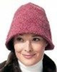 734314415f8 The easy shaping of this bucket hat makes it the perfect beginner crochet  hat. Use