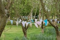 forest wedding bunting