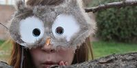 Woodland creature masks