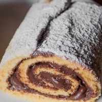 Mouthwatering Swiss Nutella Roll