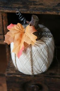 Crochet Thread Pumpkin
