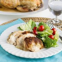slow cooker chicken with Spice Rub