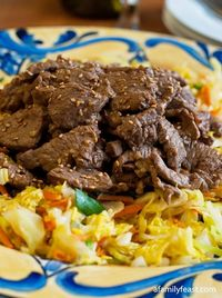 A quick and delicious Asian-inspired Beef & Cabbage Stir Fry. Perfect for a busy weeknight dinner.