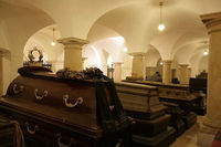 Prussian Royal Family Coffins in the Berliner Dom (Berlin Cathedral)