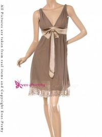 Ever-Pretty, Sexy Khaki, $49.99- Different color, but a style of bridesmaid dresses that look good on everybody