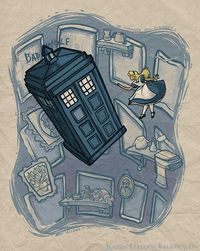 Awesome Disney Princess x Doctor Who Mash-Up Art by Amazing Mom!