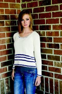 Royal Stripes Sweater: Free Knitting Pattern