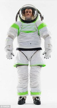 || The Z-1, NASA's new spacesuit prototype, otherwise known as the Buzz Lightyear Suit