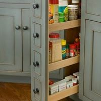 traditional kitchen cabinets by Heartwood Kitchen and Bath Cabinetry