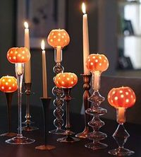 Mini Pumpkin Luminaries....another great use for the drill
