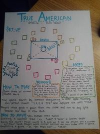 Rules to True American from New Girl - maybe the best drinking game ever