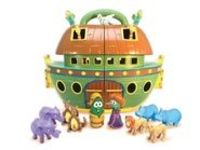 Such a cute Noah's Ark set for VeggieTale lovers.