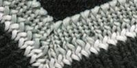 How to: Mitered Borders on a Knitted Blanket | eHow.com
