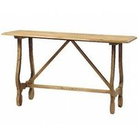Alice French Console in Reclaimed Old Wood $625