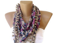 scarf, scarves, women scarves, girly, womens fashion,summer trends,trendscarf,girl,for her,etsy,shopping,crafts,sewing,lace scarf,gifts for her,spring,seno