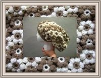 flower slouch hat 300x233 Hats and Blankets Stitch & Share Winner!