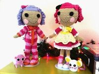 Crochet lalaloopsy FREE patterns...