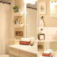guest bath shelves
