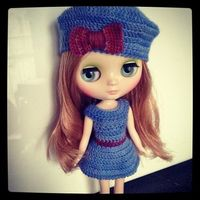 Middie crochet outfit :) by Chtiterikku, via Flickr