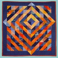 quilt: Sunrise by Madeleine Appell