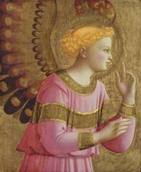 Annunciatory Angel Fra Angelico, 1450-1455