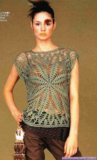 crochet doily top