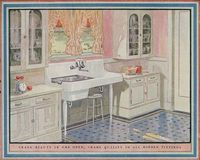 1920's kitchen