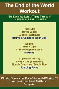 End of the World Workout