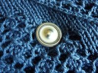MagneButton Magnet Closure Accessory - Would be great for shawls, scarves, and as a sweater closure.