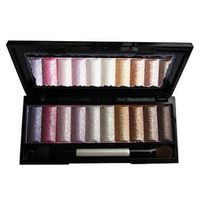 10 Colors Soft Shimmer Eye Shadow Palette (Free Brush)