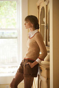 Ravelry: Zooey's Sweater pattern by Maria Leigh