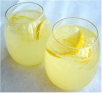 Great idea for a healthier version of lemonade!