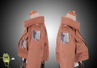 Attack on Titan Jacket Recon Corps - cosplayfield.com