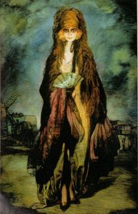 Marchesa Casati Oil by Zuloaga, 1922