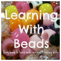 Do your kids ever play with beads? Beads are a great manipulative for preschool early learning! Fun-A-Day! shares 12 ways beads can promote early learning in kids at B-InspiredMama.com.