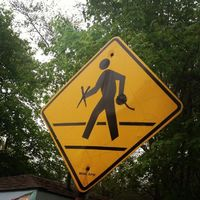 Knitter Crossing ;)