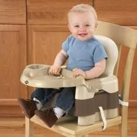 Safety 1st Sit, Snack, and Go Convertible Booster Seat...better than one of those big bulky high chairs