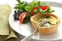 Low-Carb Veggie and Cheddar Mini-Quiches