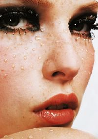 Polina Kouklina for Vogue Nippon Beauty October 2003.